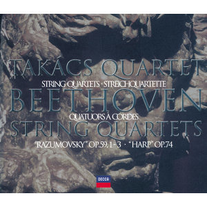 Beethoven: The Middle Quartets - 2 CDs