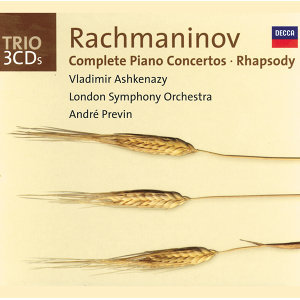 Rachmaninov: Complete Piano Concertos/Rhapsody on a Theme of Paganini - 3 CDs