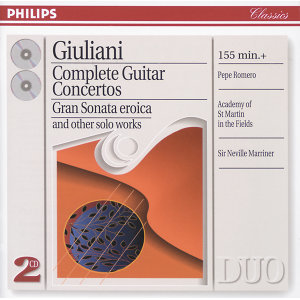 Giuliani: Complete Guitar Concertos - 2 CDs