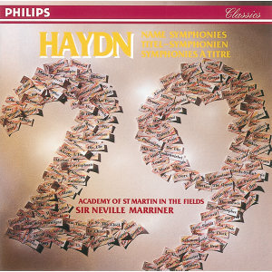 Haydn: 29 Named Symphonies - 10 CDs