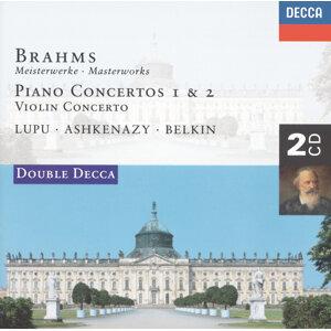 Brahms: Piano Concertos Nos.1 & 2/Violin Concerto - 2 CDs