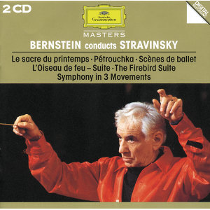 Bernstein conducts Stravinsky - 2 CDs