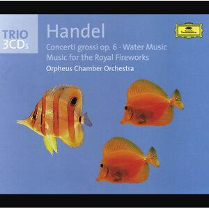 Handel: Concerti grossi op. 6, Water Music, Fireworks Music - 3 CDs