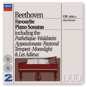 Beethoven: Favourite Piano Sonatas - 2 CDs