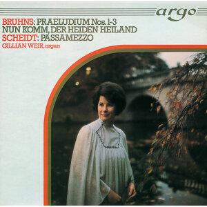 Bruhns/Scheidt: Organ Works