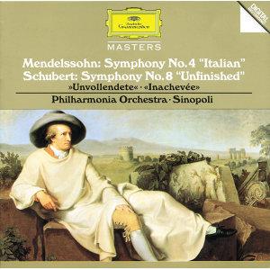 "Schubert: Symphony No.8 in B Minor D759 ""Unfinished"" / Mendelssohn: Symphony No.4 in A Major op.90"