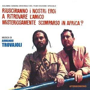 Riusciranno i nostri eroi a ritrovare l'amico misteriosamente scomparso in Africa? - Original Motion Picture Soundtrack