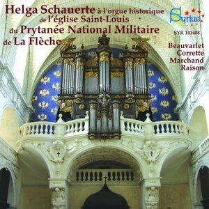 Correte, Charpentier, Raison: L'orgue historique de l'église Saint-Louis du Prytanée National Militaire de La Flèche