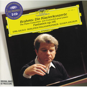 Brahms: The Piano Concertos; Fantasias Op.116 - 2 CDs