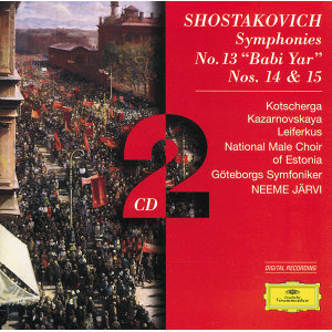 "Shostakovich: Symphonies Nos.13 ""Babi Yar"", 14 & 15 - 2 CDs"