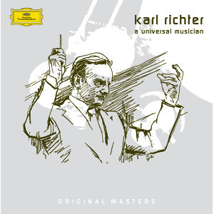 Karl Richter: A Universal Musician - 8 CD's