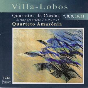 Villa-Lobos: String Quartets 7, 8, 9, 10, 11
