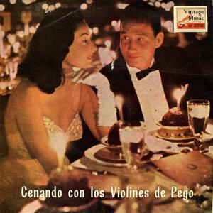 """Vintage Dance Orchestras Nº 63 - EPs Collectors """"Cenando Con Los Violines De Pego"""""""