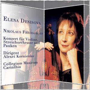 Nikolaus Fheodoroff: Konzert für Violine, Steichorchester und Pauken