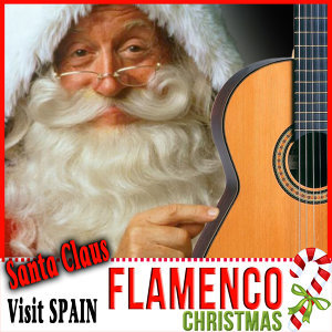 Santa Claus Visit Spain. Flamenco Christmas