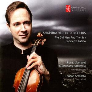 Shapira: Violin Concertos