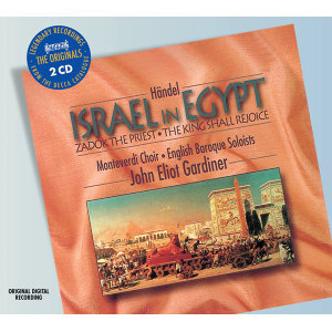 Handel: Israel in Egypt etc - 2 CDs