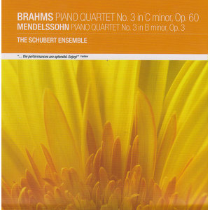 Brahms: Piano Quartet No.3 / Mendelssohn: Piano Quartet No.3