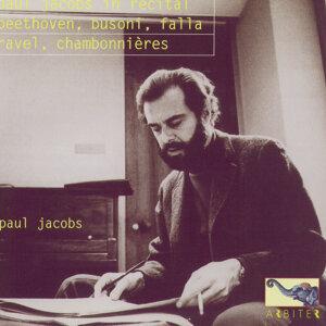 Paul Jacobs in Recital: Beethoven, Busoni, Falla, Ravel, Chambonnières