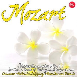 Mozart: Divertimento No.11 for Oboe, 2 Horns & Strings in D Major K. 251