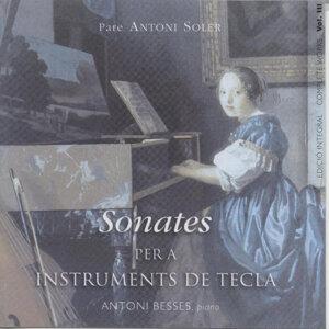 Pare Antoni Soler Sonatas For Keyboard Vol. 2