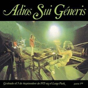 Adiós Sui Generis Vol.I