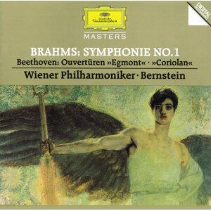 "Brahms: Symphony No.1 / Beethoven: Overtures ""Egmont"" & ""Coriolan"""
