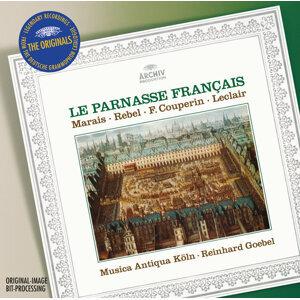 """Le Parnasse Francais - Marais: La Sonnerie de Sainte-Geneviève du Mont de Paris; Sonata à la Marésienne / Rebel: Tombeau de Monsieur de Lully / Couperin: Sonata """"La Sultane"""" / Leclair: Overtures Op.13/2 & du Trio Op.14"""