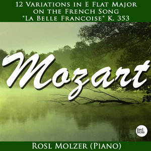 "Mozart: 12 Variations in E Flat Major on the French Song ""La Belle Francoise"" K. 353"