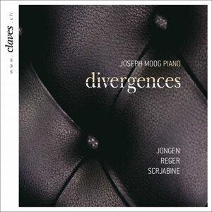 Jongen, Reger & Scriabin: Divergences