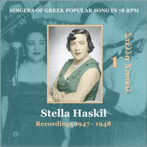 Stella Haskil Vol. 1 / Singers of Greek Popular Song in 78 rpm / Recordings 1947 - 1948