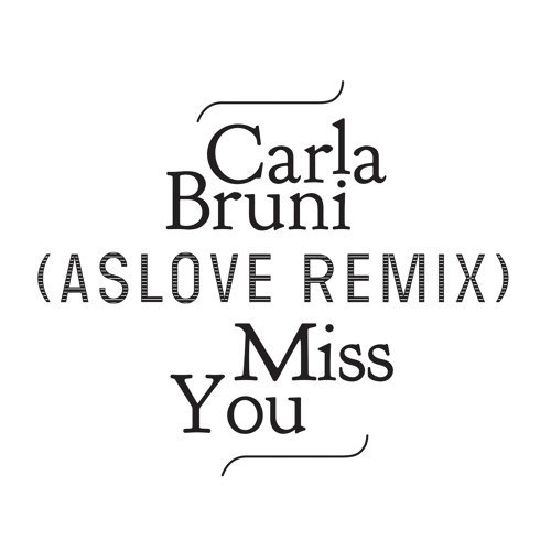 Miss You - Aslove Remix