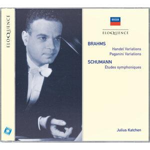 Brahms: Handel Variations; Paganini Variations / Schumann: Etudes Symphoniques