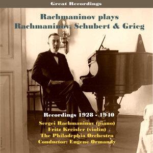 Sergei Rachmaninov Plays Rachmaninov, Schubert & Grieg / Recordings 1928 - 1940