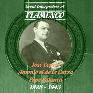 Great Interpreters of Flamenco - José Cepero, Antonio el de la Carzá, Pepe Palanca [1928 - 1943]