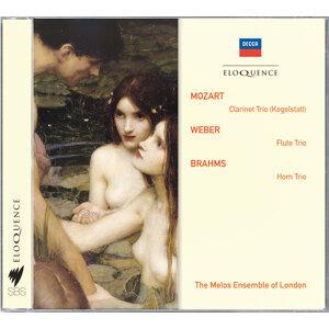 Mozart: Clarinet Trio; Weber: Flute Trio; Brahms: Horn Trio - Australian Eloquence Digital