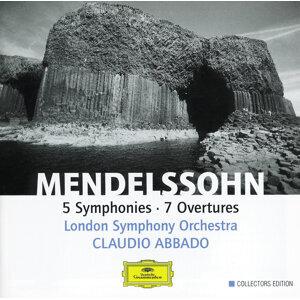 Mendelssohn: 5 Symphonies; 7 Overtures - 4 CD's
