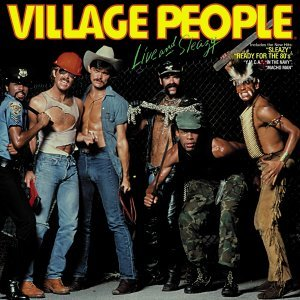 Village People Live and Sleazy - Original Live Album 1980