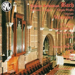 Bach: L'orgue Bernard Hurvy d l'Abbaye d'Achel