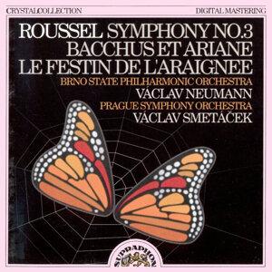 Roussel:  Symphony No. 3 / Bacchus et Ariane /  Le festin de l´araignee