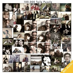 Hunderttausend Teile Puzzle