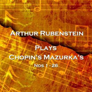 Plays Chopin's Mazurka's 1 - 26