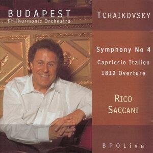 Tchaikovsky Symphony No 4, Capriccio Italien, 1812 Overture
