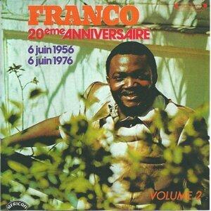 Franco 20ème anniversaire, vol. 2 - 6 juin 1956 - 6 juin 1976
