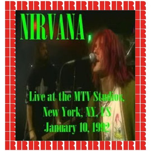 MTV Studios, New York, January 10th, 1992