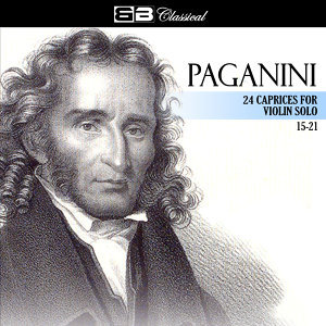 Paganini 24 Caprices for Violin Solo 15-21
