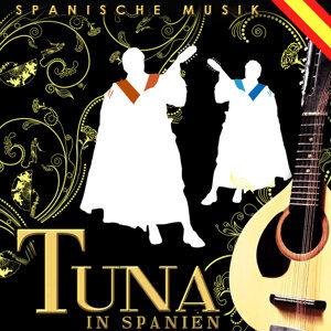 Spanische Musik. Tuna in Spanien