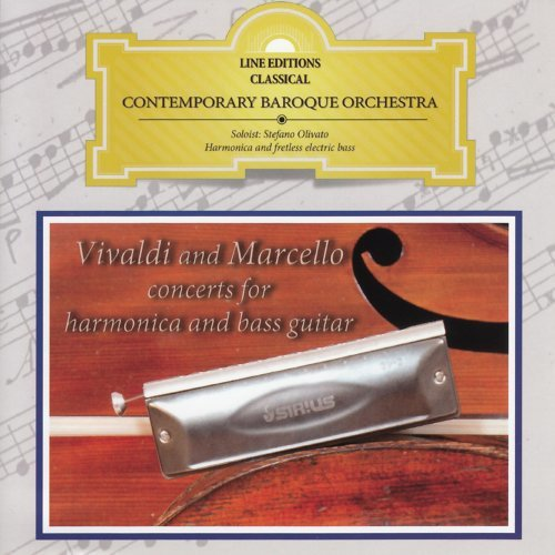 Marcello A.: Concerto No. 2 in D Minor per oboe, archi e basso continuo, S.Z799: II. Adagio (Arr. for Chromatic Harmonica, Strings, Cembalo and Lute)