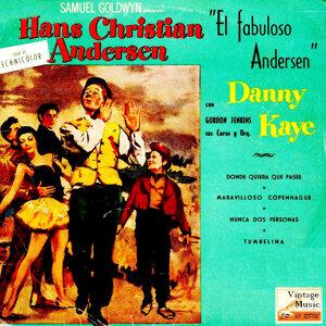 """Vintage Movies Nº 8 - EPs Collectors O.S.T: """"El Fabuloso Andersen"""" """"Hans Christian Andersen"""""""