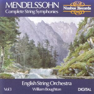 Mendelssohn: Complete String Symphonies Volume 3